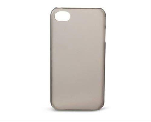 KSIX Doorschijnende Hoes voor iPhone 4/4S - Rook