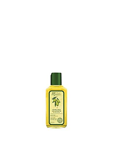 CHI Olive Organics Olive&Silk - Olio per capelli e corpo, 15 ml