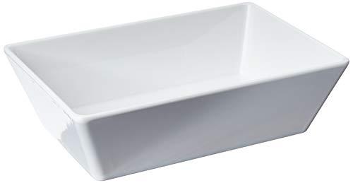 Travessa Retangular Buffet, 1,8 Litro, 25 x 17 x 7 cm, Branco, Haus Concept