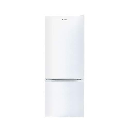 Candy CMCL 5142WN – Frigorifero combi, 205 L, altezza 1,44 m, porte reversibili, illuminazione LED, 39 dBA, bianco