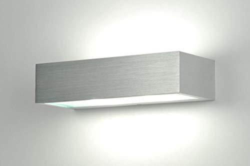 Lumidora Wandleuchte Modern Aluminium Gebuerstetes
