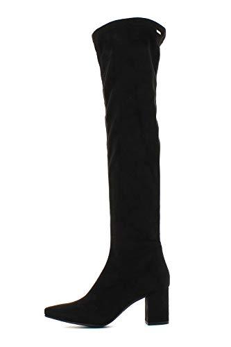 Mustang Botas Altas Encima Rodilla Negras - Color - Negro, Talla Zapatos Mujer - 37
