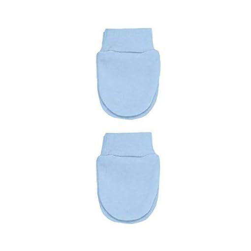 Gimbles-New-2-Pair-Pack-Newborn-Baby-100-Cotton-Anti-Scratch-Mittens-Mitts