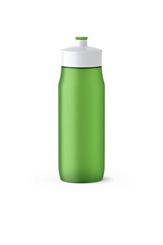 Emsa GmbH Squeeze Bottle 0,6L Green, PE, grün, 6.5 x 6.5 x 21.9 cm