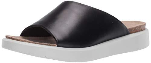 ECCO CORKSPHERESANDAL, Zapatillas de Estar por casa Mujer, Negro (Black 1001), 37 EU