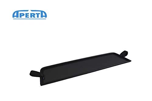Deflettore Antivento Nero Compatibile con Abarth, Fiat 124 Spider 348