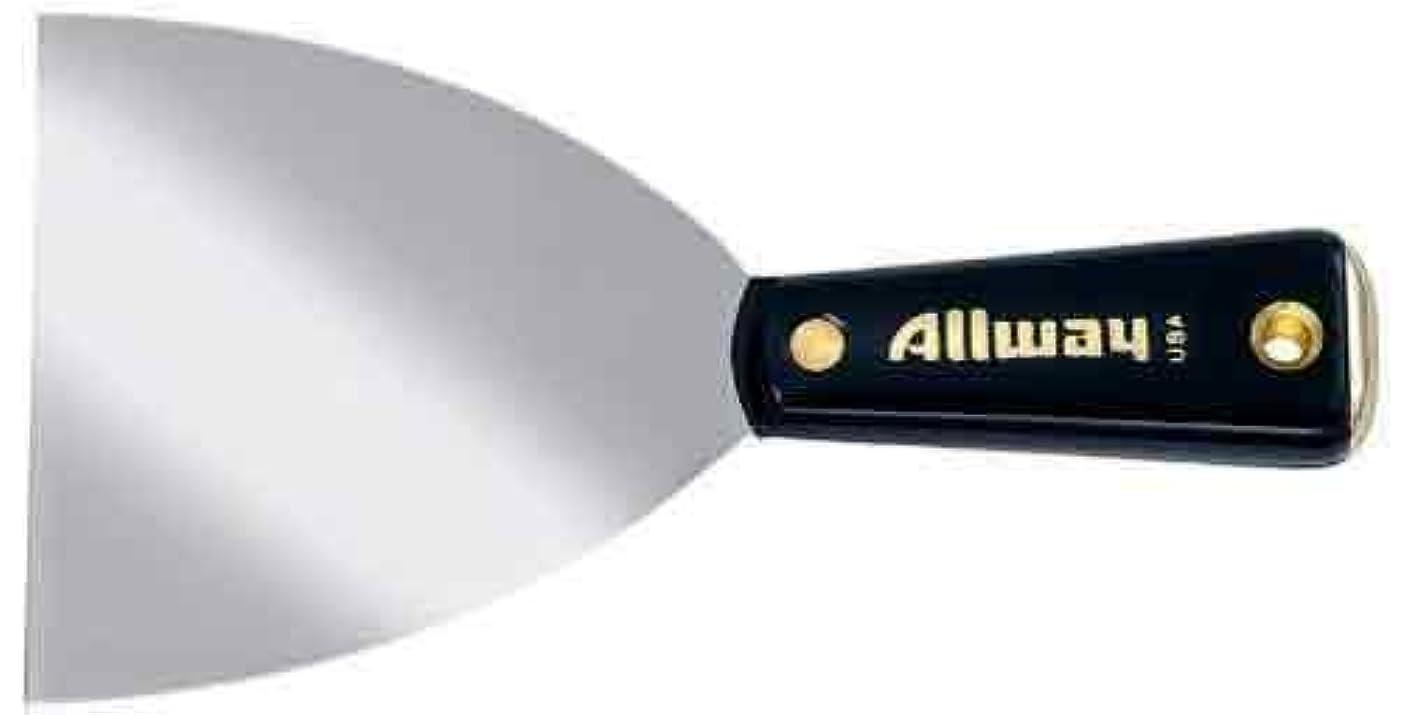 Allway Tools 4-Inch Flexible Hammer End Nylon Handle Tape Knife