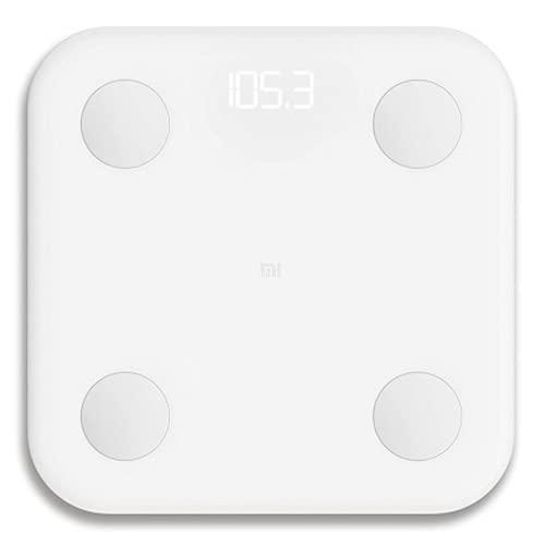 Xiaomi Mi Body Composition Scale 2 - Chip BIA Alta Precisión, 13 Datos Corporales, Bluetooth 5.0, Compatible Android/iOS, Escala Inteligente, App MiFit