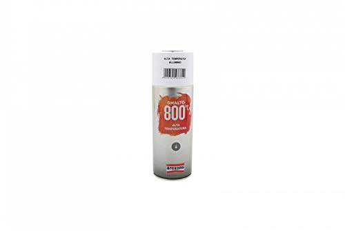 Arexons RXS064 3331 Smalto Acrilico Alta Temperatura, Alluminio, 400 ml
