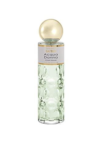 Parfums Saphir Acqua Donna - Eau de Parfum Vaporisateur Femme - 200 ml