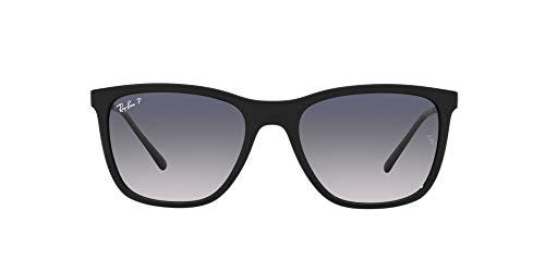 Ray-Ban 0RB4344 Gafas, Black, 56 Unisex Adulto