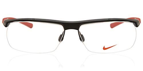 Nike Herren 7071/2 011 57 Brillengestelle, Schwarz (Matte Black)