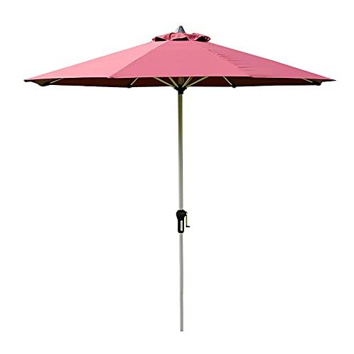 GYX-Décoration Sombrilla, Sombrillas de Jardín Al Aire Libre, Sombrillas Redondas, con Manivelas, para Jardines, Patios, Terrazas, Playas (Sin Base)