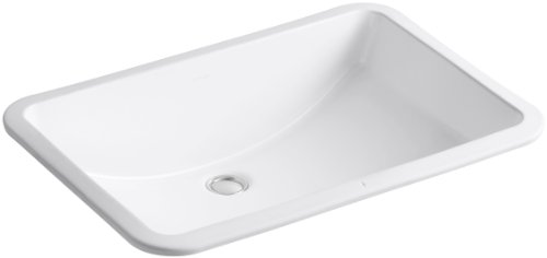KOHLER K-2215-0 Ladena Under-Mount Bathroom Sink, White
