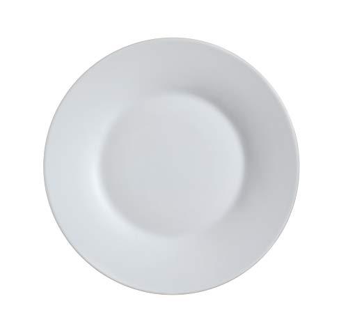 Luminarc L7078 - Juego de 6 platos de postres (22 cm), color gris