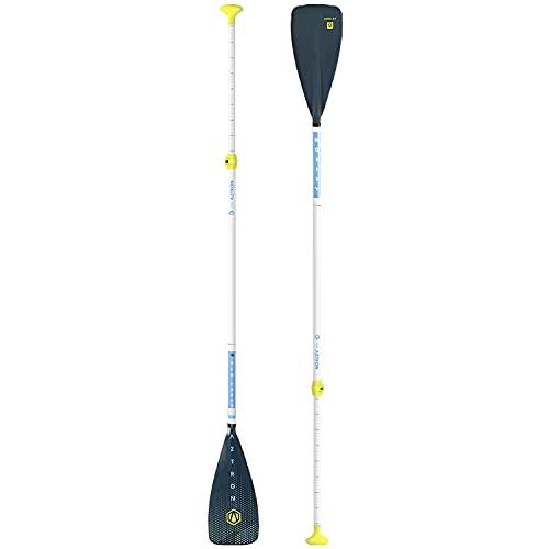 Aztron NEO JUNIOR 3-teilige Fiberglas-Paddel, Unisex, Kinder, grau, 130-175 cm