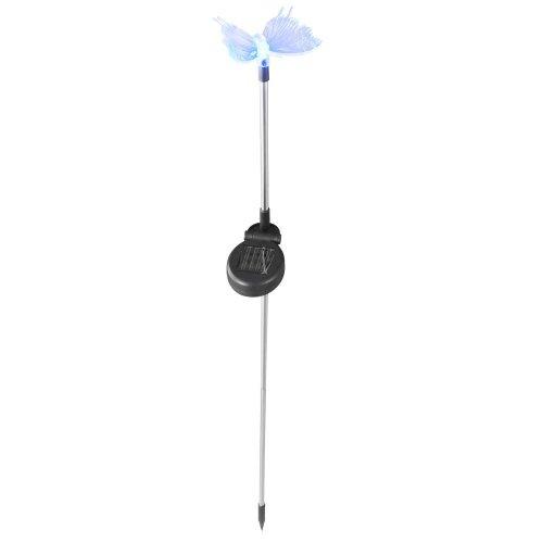 Globo LED Kunststoff Schmetterling Farbwechsel Solar Lampe