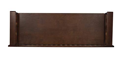 "Product Image 7: Linon Home Dcor Linon Home Decor Cynthia Storage Bench, 50""w x 17.25″d x 32″h, Walnut"