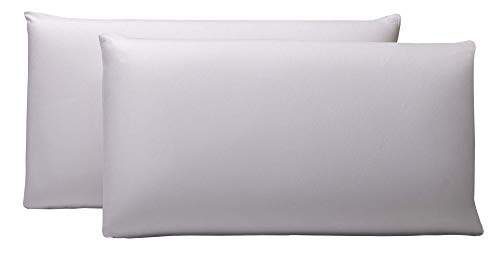 Pikolin Home - Pack de 2 fundas protector de almohada lyocell, impermeables, 40x70cm, (Todas las medidas) 🔥