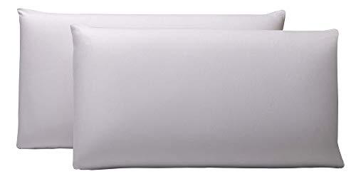 Pikolin Home - Pack de 2 fundas protector de almohada lyocell, impermeables, 40x90cm,(Todas las medidas)