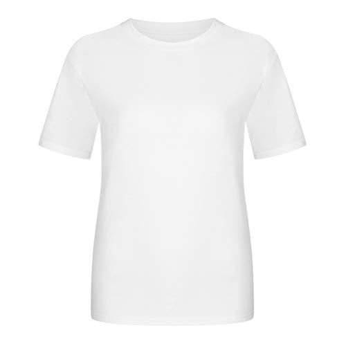 Xniral Home Track Bedrucktes T-Shirt Herren Unterhaltsam Spiel Shirt Kurzarmhemd mit Rundem Hals Eltern-Kind Interaktives Spiel Tops(Weiß 1,M)