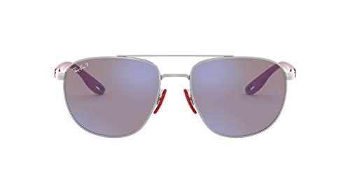 Ray-Ban 0RB3659M 0RB3659MF031H0, Silver, 57 para Hombre