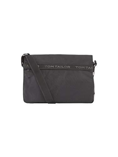 TOM TAILOR Herren Taschen & Geldbörsen Messenger Bag Matteo schwarz/Black,OneSize