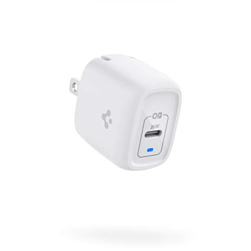 PowerArc for iPhone 12 Charger, 20W GaN Super Mini Type C Charger USB C PD Fast Charger Wall Adapter Foldable Plug Power Delivery for iPhone 12 Pro Max 12 Mini MagSafe Charger 11 SE 2020 X XR XS iPad
