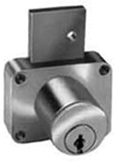 Pin Tumbler Deadbolt Lock for Drawers, Surface Mounted, Cylinder