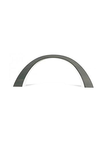 Köhler Kunsthandwerk - Arc LED - Dimensions : 55 x 23,5 cm - Extérieur : tilleul - Anthracite - Éclairage intérieur électrique