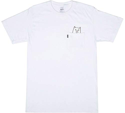 Lord Nermal Pocket T-Shirt Größe: L Farbe: Weiß