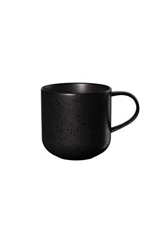 ASA coppa Henkelbecher kuro Porzellan 0,4 l, schwarz, 19100190