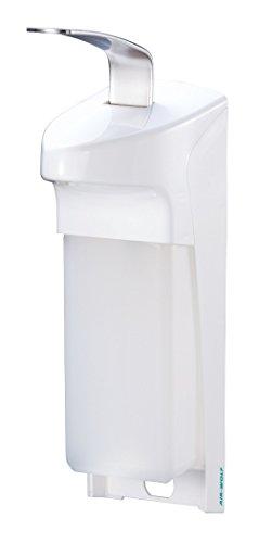 AIR-WOLF Seifen- und Desinfektionsmittelspender 1,0 Liter, weiß, Serie Omikron
