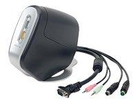 Belkin F1DS102T-B-DL - SOHO 2PT KVM SWCH USB PS/2 W/ 2 Cables