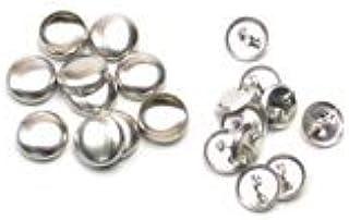 13mm くるみボタン 足付タイプ セット 10個 5パッケージセット ※くるみボタン打ち具は別売