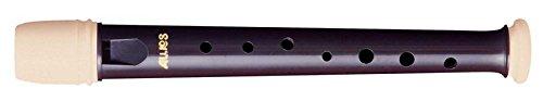 Aulos 700091 C-Garklein Blockflöte Symphony Mod.501S barocke Griffw.braun, mit Tasche