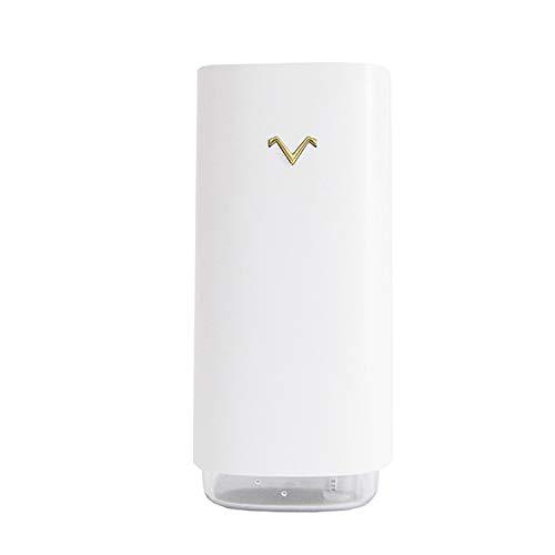 pedkit Mini Humidificador Coche, Humidificador de Aire Silencioso de 20dB, con Luz Nocturna Proyector LED, Humidificador Bebes 320 ml para el Hogar Oficina de Viaje Dormitorio