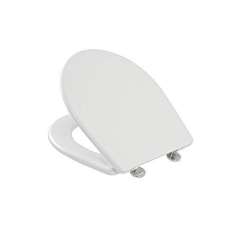 Inbagno Sedile WC Pozzi GINORI Serie Colibri 2 in Termoindurente Bianco Compatibile