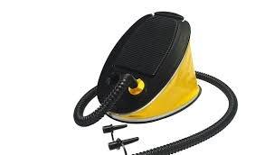 SCOPREGA handpomp Bravo 5 voor elk type opblaasbare luchtpomp, hogedruk-luchtpomp voor opblaasbare boten, kelders, matrassen, opblaasbaar speelgoed, kajaks, SUP