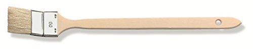 Color Expert 81666010 - Pincel radiador (calidad profesional, importación, cerdas blancas, 60 mm)