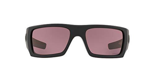 Oakley Men's Det Cord Rechthoekige Zonnebril, Mat Zwart, 60,8 mm
