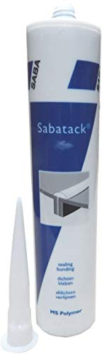 MEGASTARK Sabatack® 780 MS polymeer lijm afdichtmiddel 290 ml ZWART RAL 9011