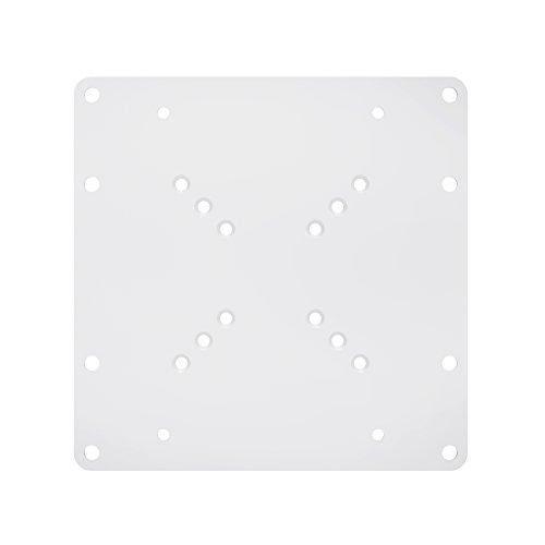 PureMounts ADAPT-A Piastra adattatore universale VESA per allargare le distanze VESA, ingrandisce VESA 50x50 fino a 200x200, max. 30 kg, bianco