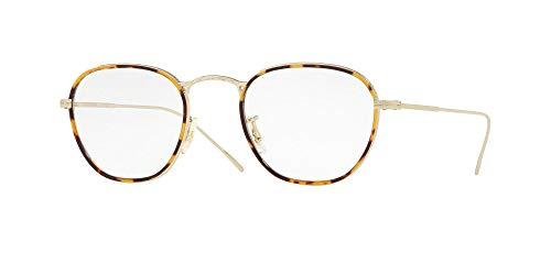 Oliver Peoples Brillen Gafas de Vista EOIN OV 1237J SOFT GOLD/CORAL WASH 48/22/145 Herren