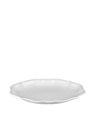 Villeroy & Boch Manoir Beilagenschale, 24cm, Premium Porzellan, Weiß