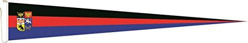 U24 Langwimpel Ostfriesland Fahne Flagge Wimpel 150 x 40 cm Premiumqualität
