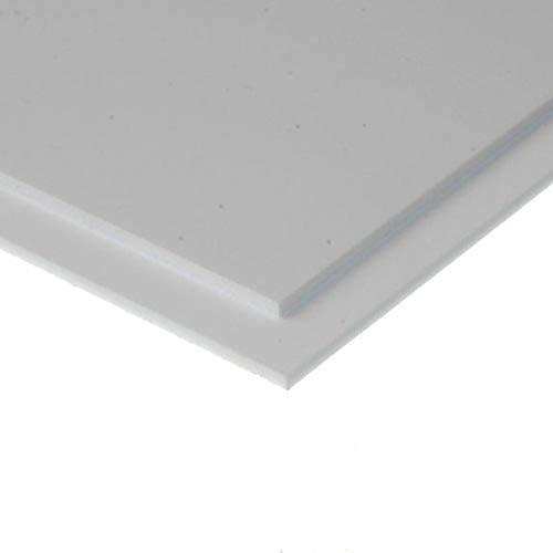 Evergreen 9040 - Tablero de poliestireno, Juego (150 x 300 x 1 mm, 2 Unidades), Color Blanco