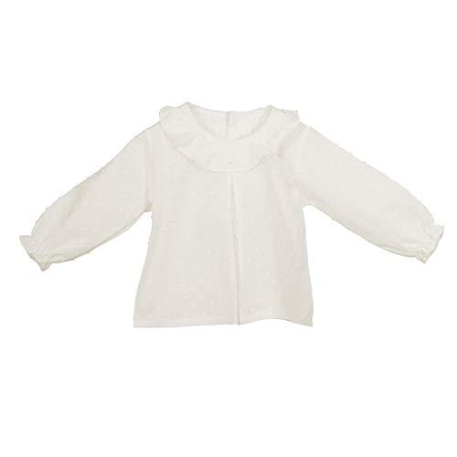 CALAMARO - Camisa PLUMETI BEBÉ Bebé niño Color: Crudo Talla: 12M