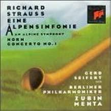 Strauss: An Alpine Symphony / Horn Concerto No. 1, Opp. 11,64