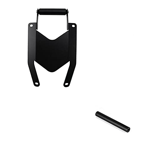 YAOXINGHUA Soporte de motocicleta para teléfono móvil, placa de navegación GPS para Yamaha MT07 Tracer 700 2016-2020 (color negro)